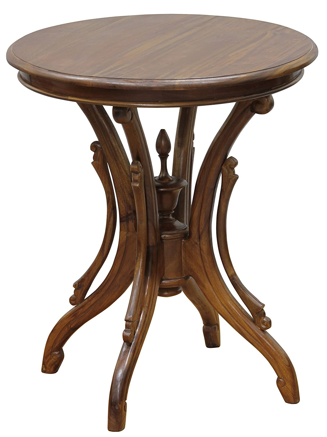 Amazon com nes furniture nes fine handcrafted furniture solid mahogany wood venice wine table 28 light pecan kitchen dining