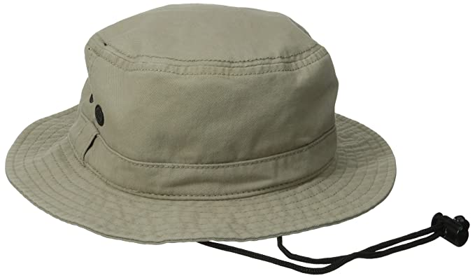 d2f885d1759f9 San Diego Hat Co. Men s Bucket Hat with Chin Corn and Wicking Sweatband