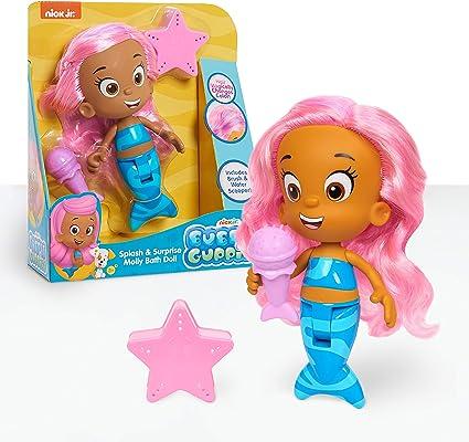 Bubble Guppies Molly Bath Doll