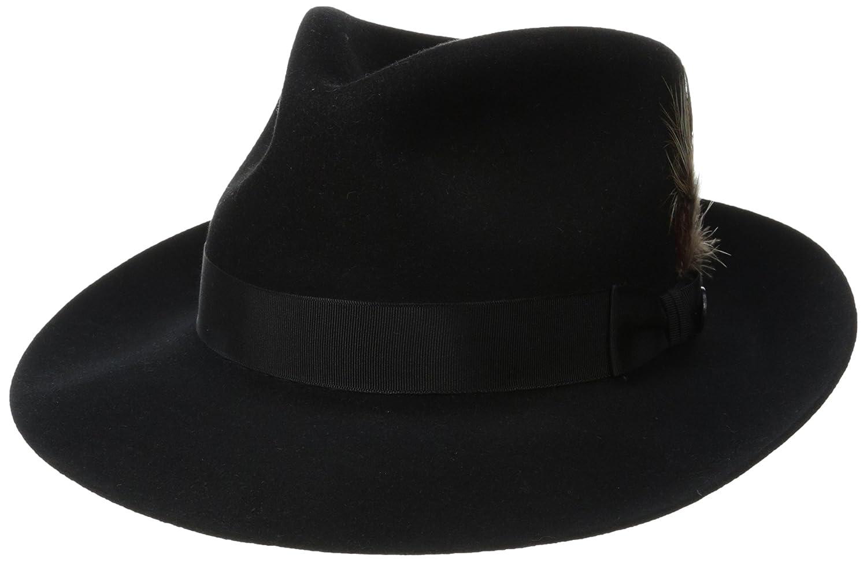 Stetson Men's Stets PM Chatham Royal Deluxefur Felt Hat Stetson Men' s Headwear TFCHAT-1023
