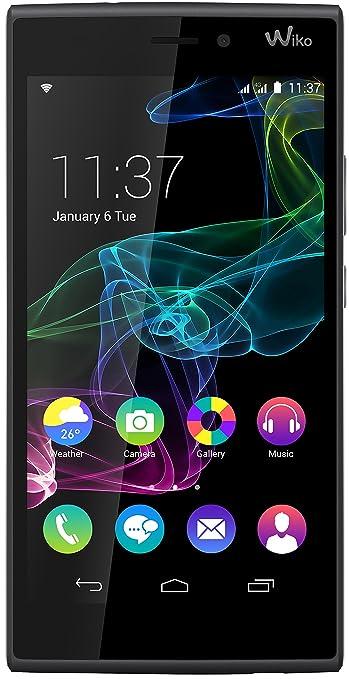 168 opinioni per Wiko Ridge Smartphone, 16 GB, Dual SIM, Nero/Grigio
