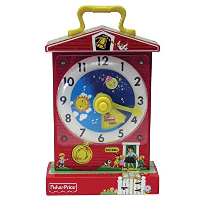 Fisher Price Classic Teaching Clock: Toys & Games