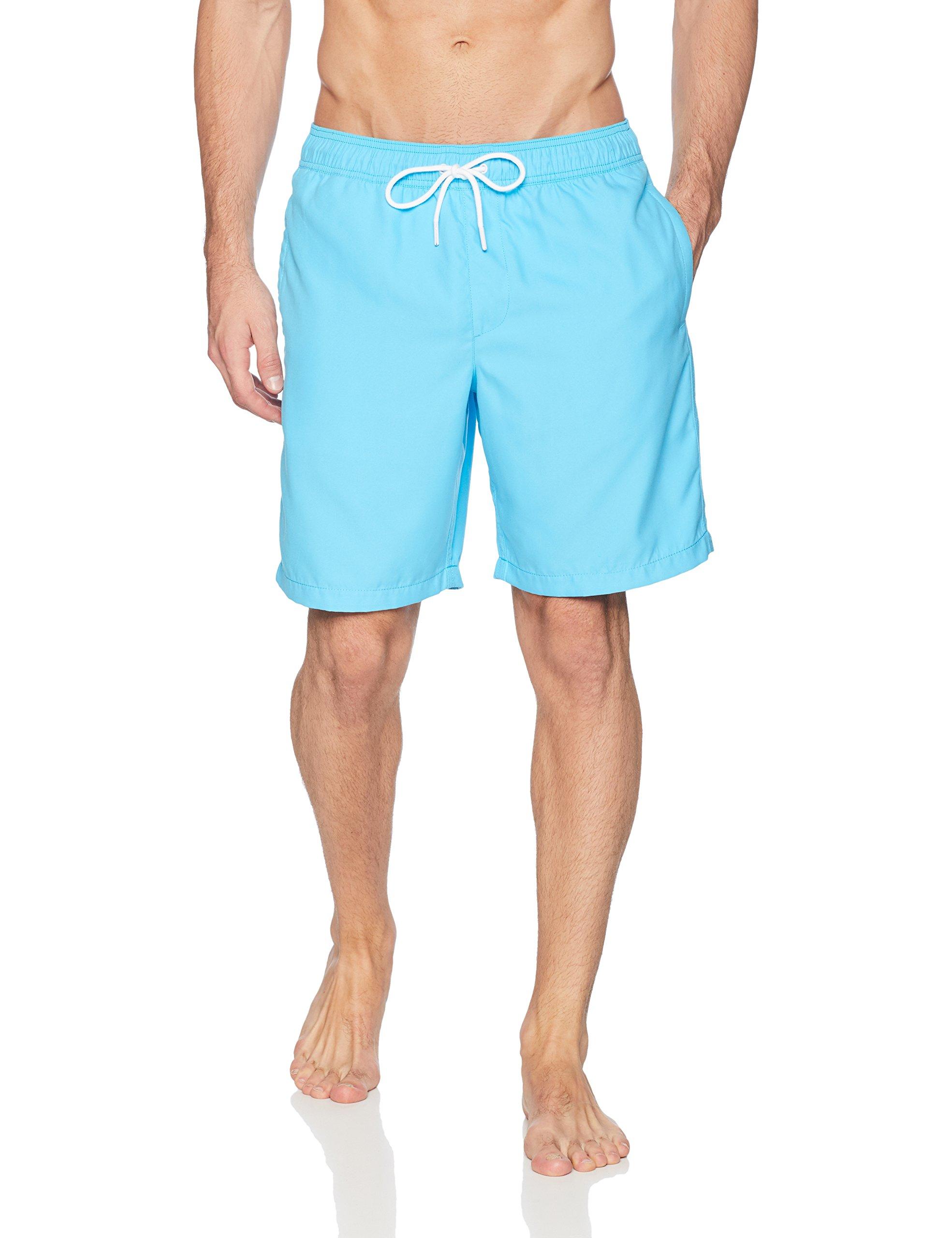 Amazon Essentials Men's Quick-Dry 9″ Swim Trunk