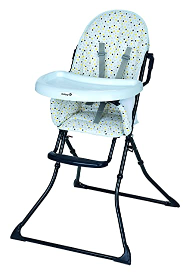 Amazon Com Safety 1st Chaise Haute Kanji Grey Patches Baby