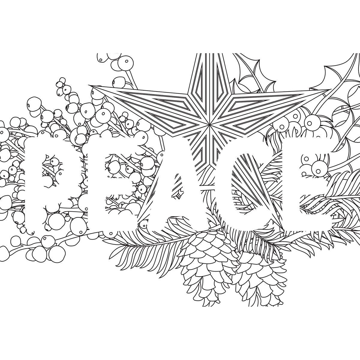 Kaisercolour C6 Gift Card W/envelope 4.5'x6.4'-peace Kaisercraft 43444292