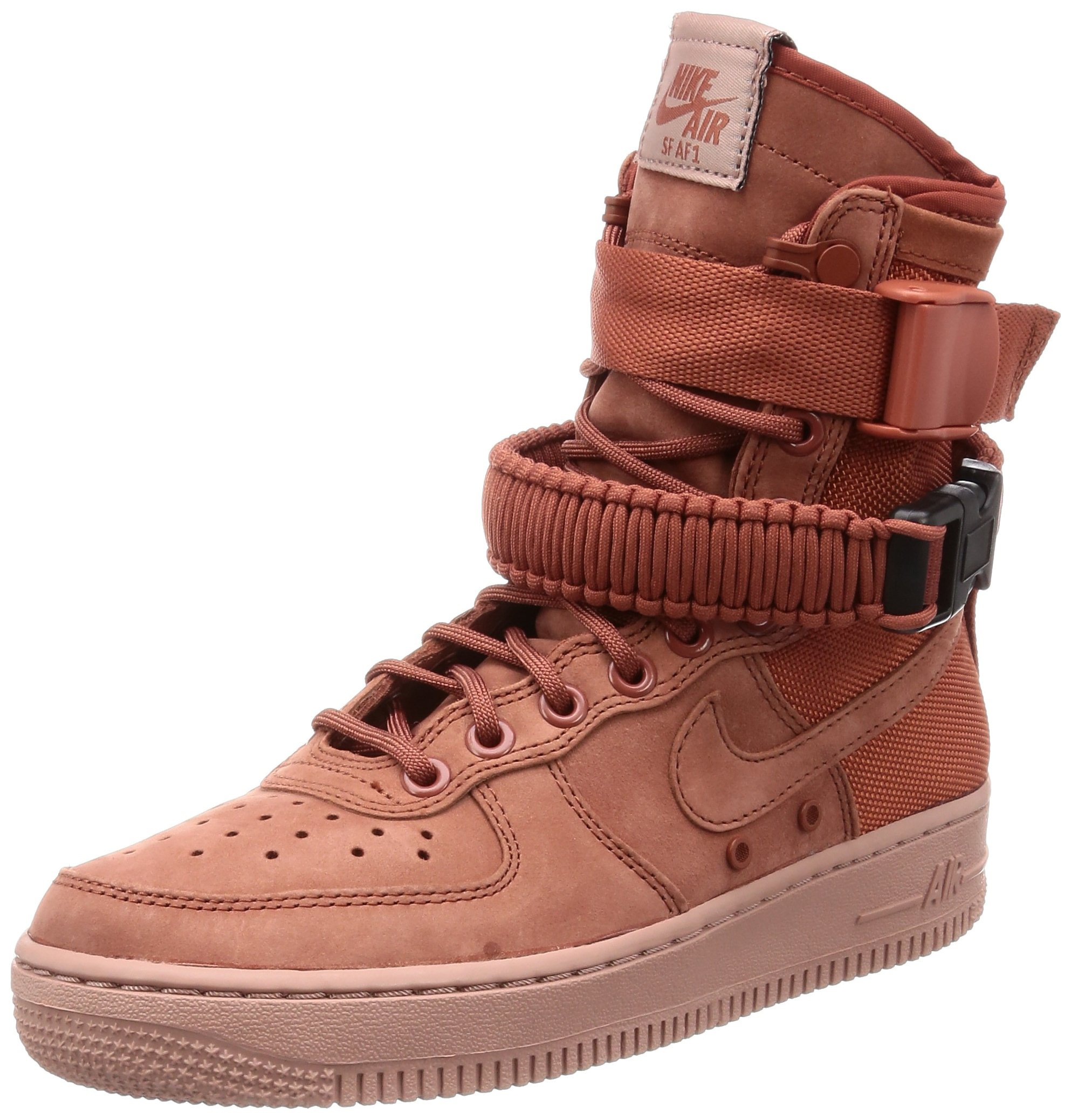 f41c1b99423 Galleon - Nike Women s Air Force 1 Dusty Peach 857872-202 (Size  6.5)