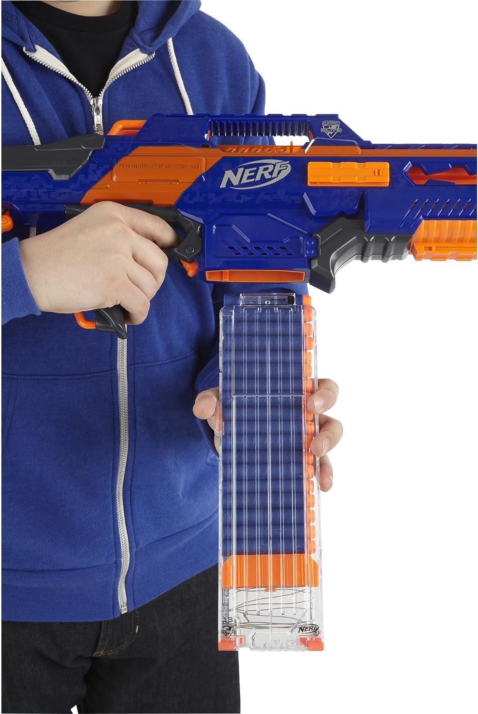 Amazon Com Nerf Cs 18 N Strike Elite Rapidstrike Colors May Vary Toys Games