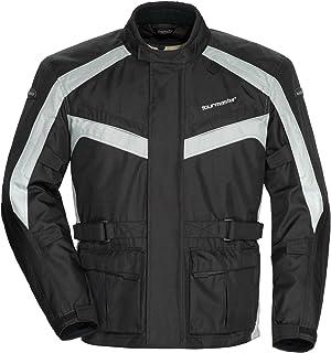 Tour Master Saber 4.0 Mens Textile Motorcycle Jacket - Silver/Black / X-Large