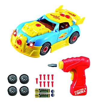 take apart toy racing car construction toy kit for kids build your own car