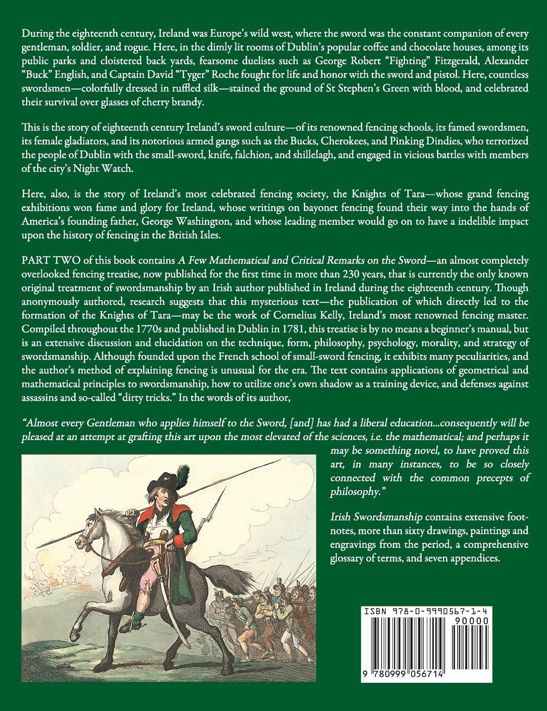irish swordsmanship fencing and dueling in eighteenth century