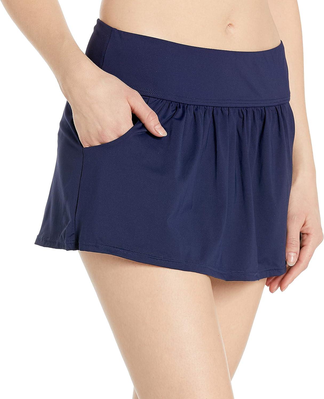 Anne Ranking TOP1 Cole Women's Skirted Bikini Swim Free shipping Bottom Pockets with