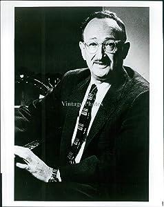 Vintage Photos 1974 Business Sidney Hook Senior Research Associate Hoover 8X10