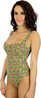 product image for Lifestyles Direct Tan Through Swimwear for Women Underwire Swimsuit Plus Size