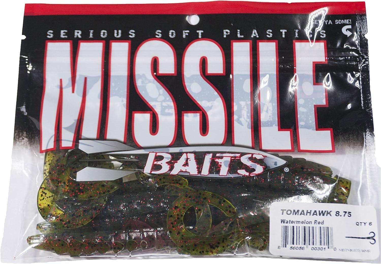 Lombriz de Vinilo Missile Baits Tomahawk 8.75