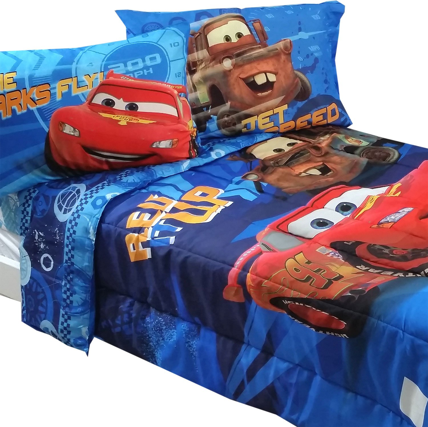 co cars aetherair size sheet bedroom set asli disney full