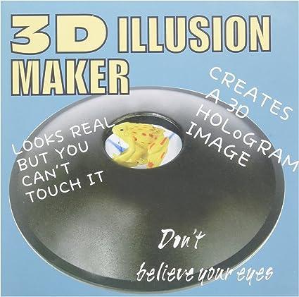 Amazon Com Powertrc 6 3 D Mirascope Illusion Maker Optical Illusions 3 D Effect Toy Toys Games