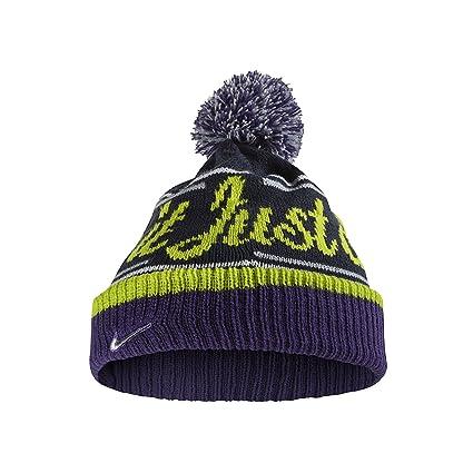 Amazon.com  Nike JDI (Just Do It) Pom Beanie Hat  632116-451  Sports ... d06395c8854