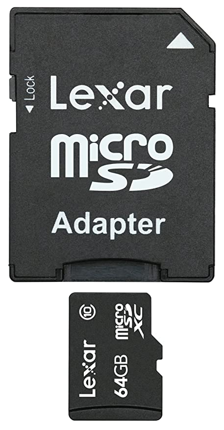 Amazon.com: Lexar – 64 GB (Clase 10) tarjeta MicroSDHC con ...