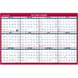 "AT-A-GLANCE Wall Calendar 2017, Erasable, Reversible, Vertical/Horizontal, Planner, 36 x 24"" (PM2628)"