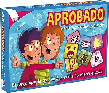 Falomir Aprobado, Juego de Mesa, Educativo, Multicolor (646440): Amazon.es: Juguetes y juegos