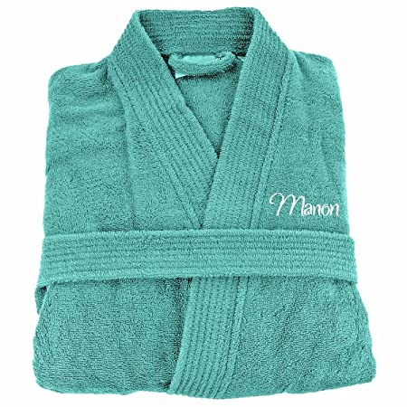 Personalised Towelling Bath Robe S//M L//XL