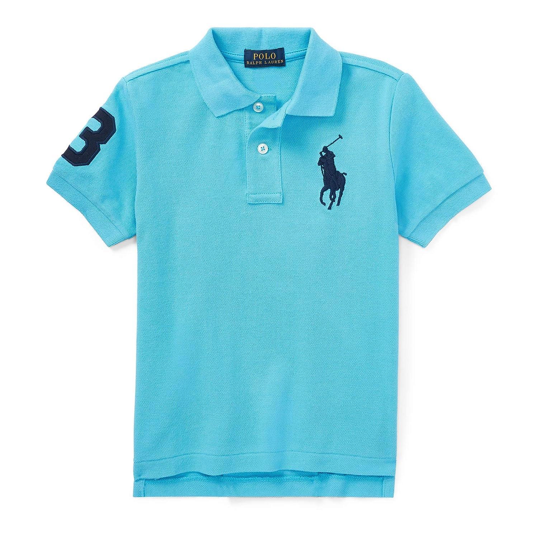 Polo Ralph Lauren Boys Mesh Big Pony Logo Polo