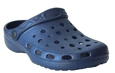 Women/'s Leather Clogs Nurse Shoes Garden Mules Slip On Flat Kitchen Shoe UK 3-8