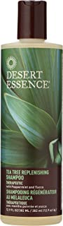 product image for Desert Essence Shampoo, Tea Tree Replenishing Shampoo, 12.9 - Ounces (Pack of 3)