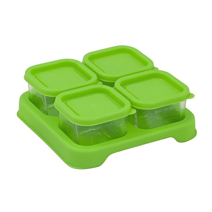 Top 9 Green Sprouts Glass Food Container