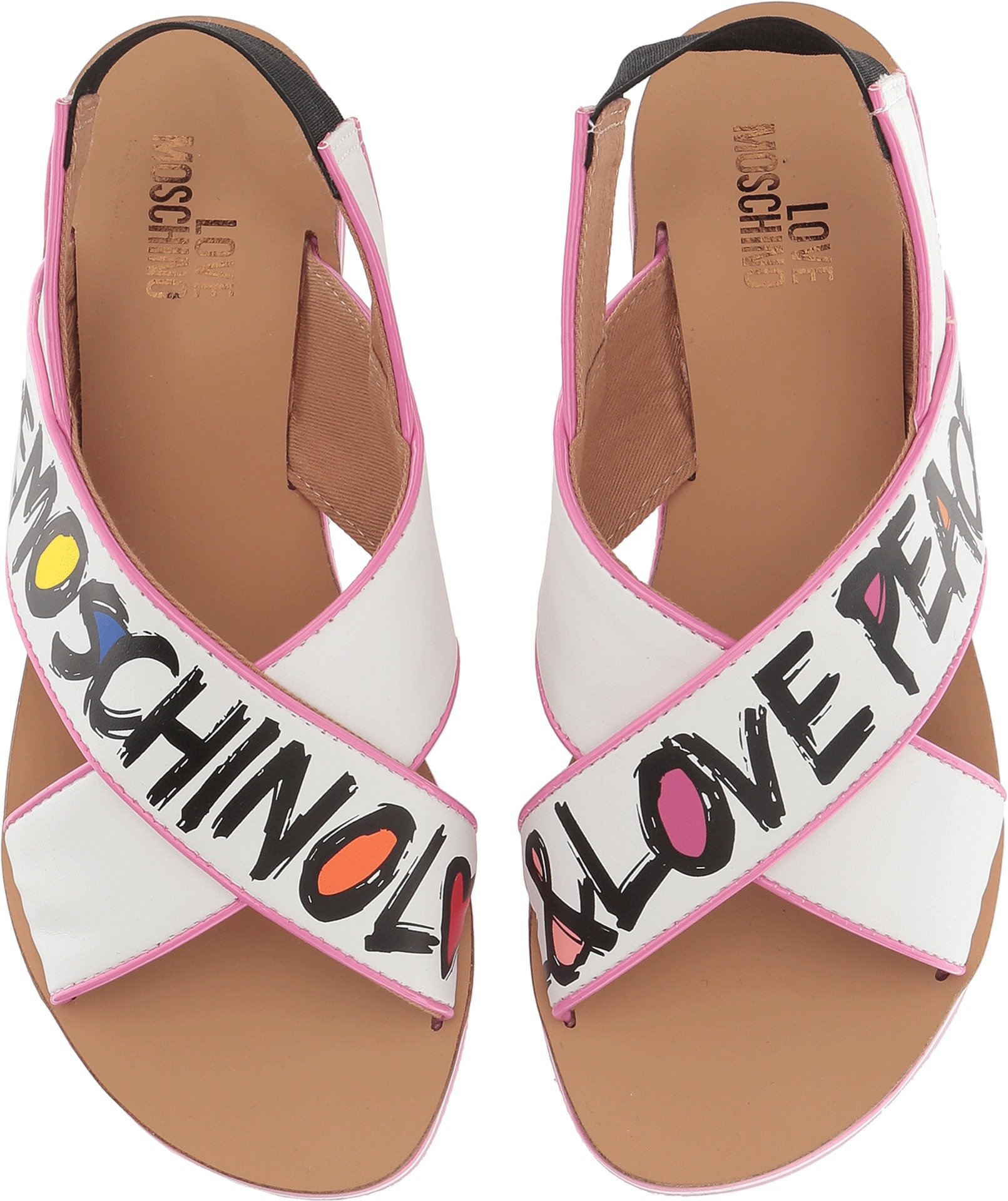 Love Moschino Women's Sandal Pink 38 M EU