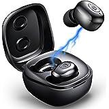 True Wireless Earbuds Mini Bluetooth Headphones Bluetooth Earbuds Wireless Headset with Microphone Sport in-Ear Ear Buds…
