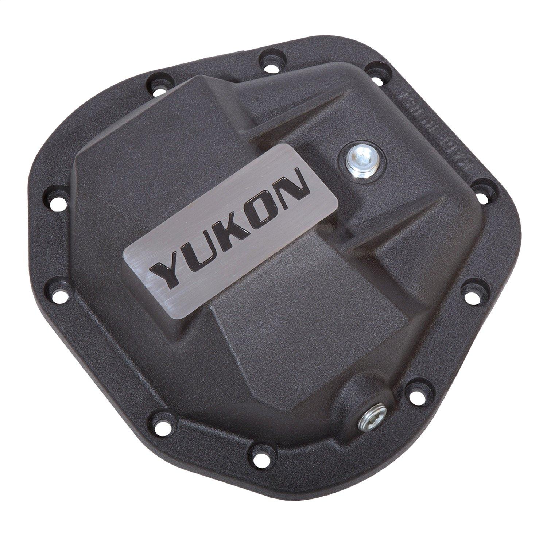 Yukon YHCC-D60 Black Hardcore Differential Cover (for Dana 50, Dana 60 & Dana 70)