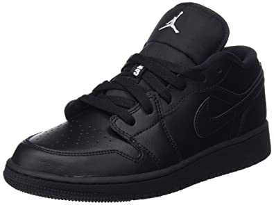 78e6242b72 Nike Unisex Kids  Air Jordan 1 Low (Gs) Basketball Shoes  Amazon.co ...