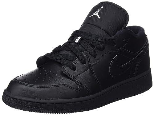 recognized brands cheap for discount 50% off Nike Air Jordan 1 Low (GS), Baskets Mixte Enfant