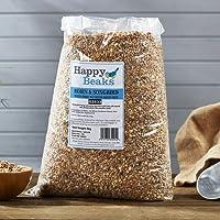 Happy Beaks Robin & Songbird Seed Mix Wild Bird All Season Premium No Mess Bird Food