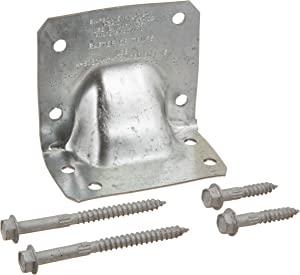 Simpson Strong Tie HGA10KT Gusset Angle Bracket Kit (10 HGA10's with screws)