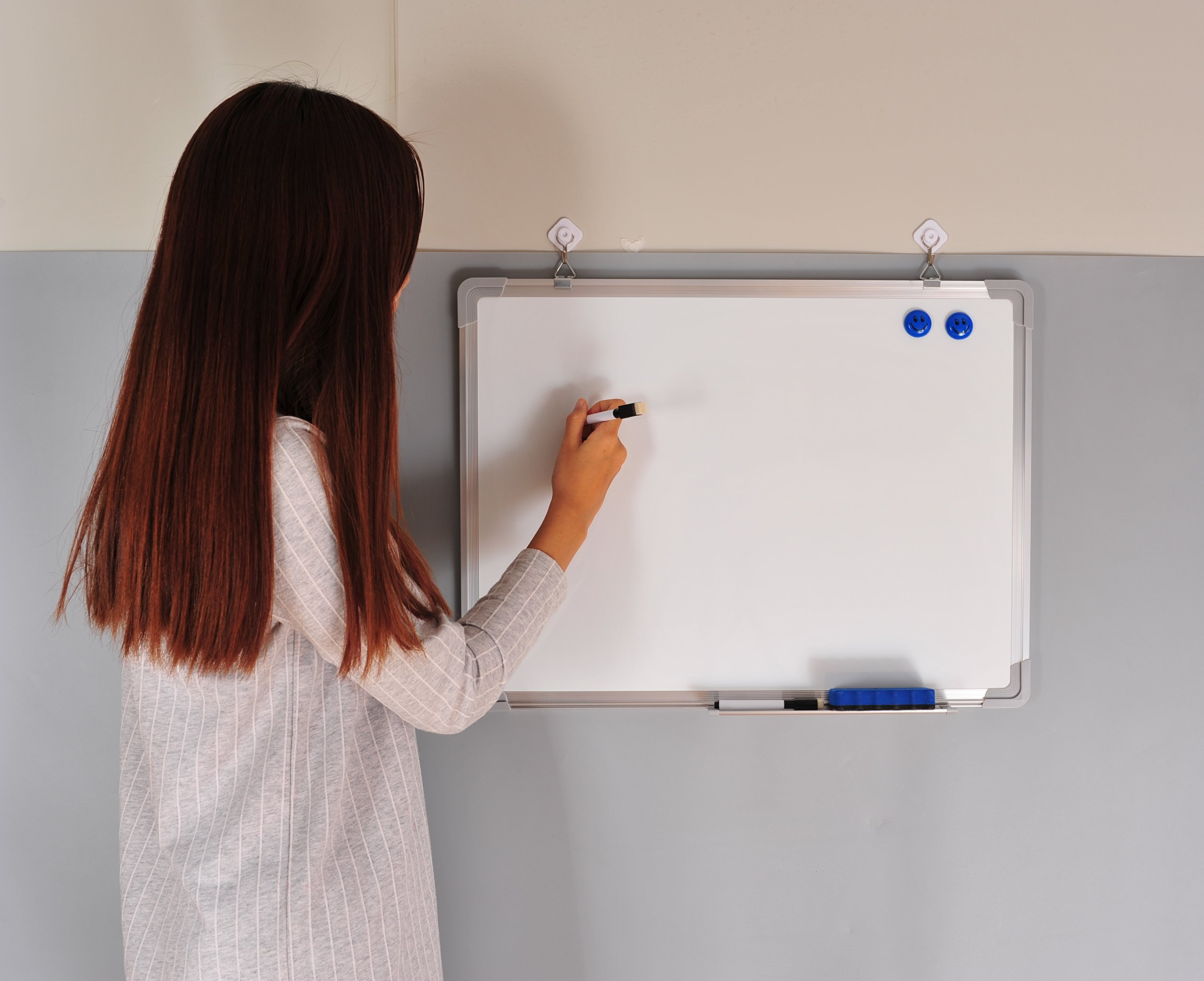 whiteboard for home office. Home Office Whiteboard. Erase Board 24 X 18 + 1 Magnetic Dry Eraser, 2 Whiteboard For A