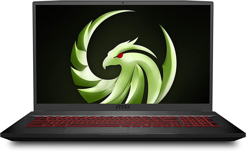 "MSI Bravo 17 A4DDR-082 17.3"" 144Hz Gaming Laptop AMD Ryzen R7-4800H RX5500M 16GB 512GB NVMe SSD +1TB Win10"