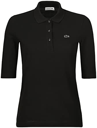 cddd3ad8bd Lacoste PF5381 Femme Polo Manches Courtes Manches Courtes,Dame Polo,3  Boutons,Taille