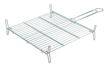 Metaltex - Parrilla doble especial, 50 x 50 centímetros ...