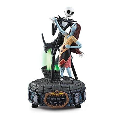 disney nightmare before christmas join you by your side music box with jack skellington - Nightmare Before Christmas Music Box