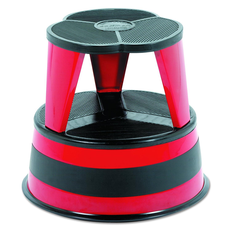 Cramer 1001-43 Kik Step Rolling Step Stool, Red