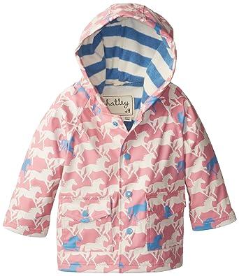 449dc469e19d Hatley Baby Girls Infant Show Horses Raincoat