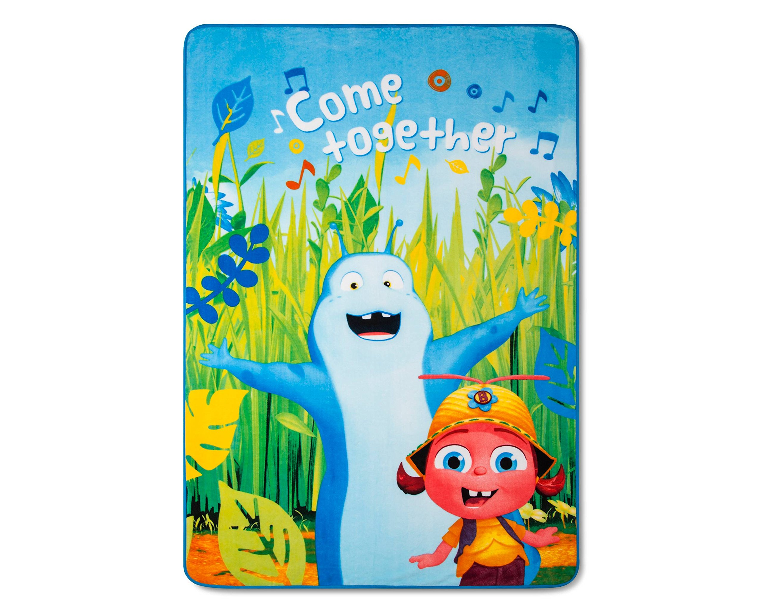 Beat Bugs Blue Bed Blanket (62''x90'') 1pc