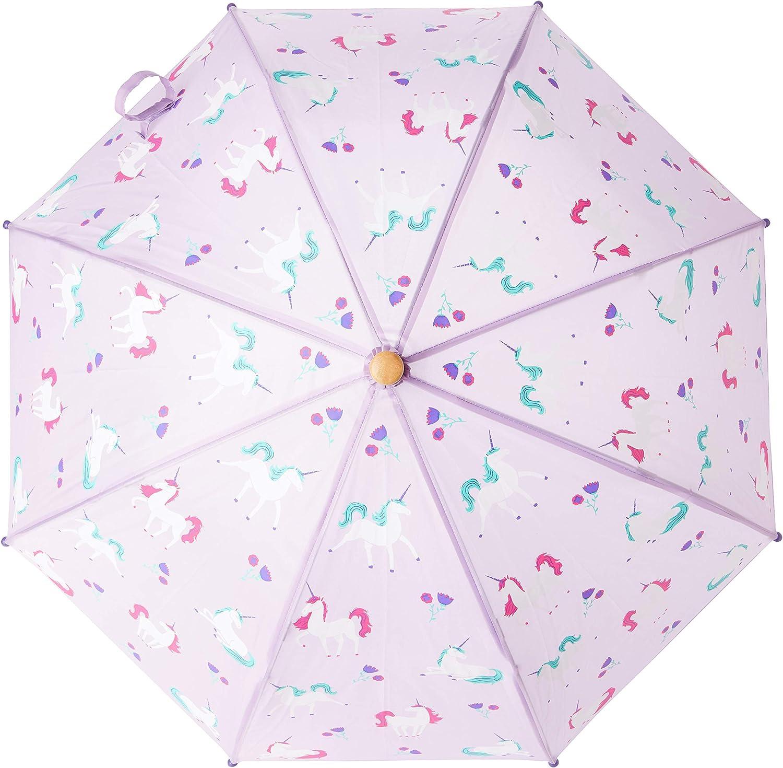 Hatley Printed Umbrellas Parapluie Licornes Ludiques Taille Unique Fille