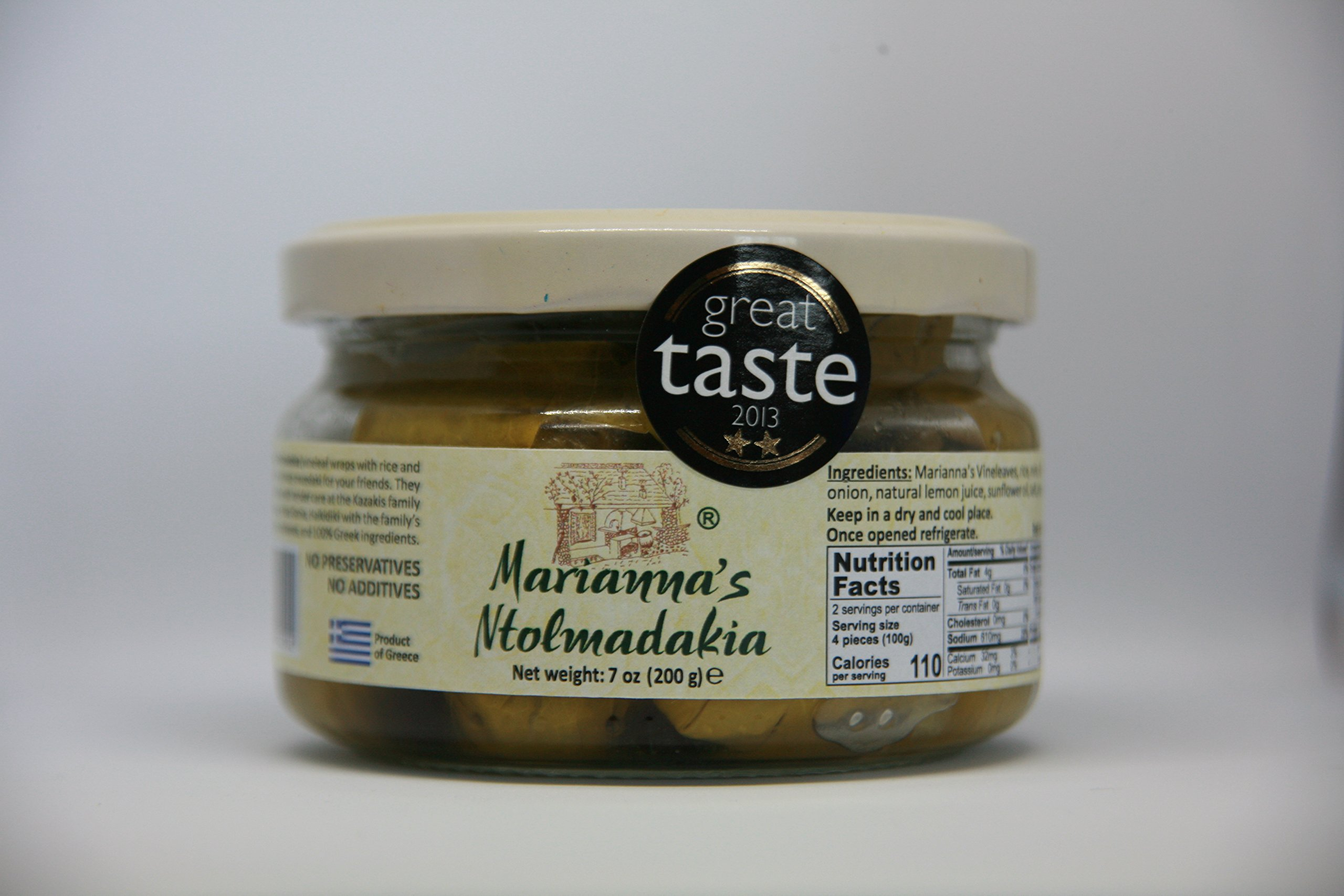 Marianna's Stuffed Grape Leaves from Halkidiki Greece by Marianna's
