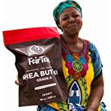 Raw African Shea Butter Unrefined Ivory Organic Premium Grade A 100% Natural Plant Based Vegan 16 oz