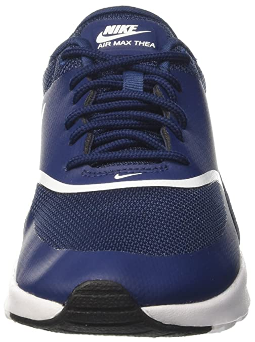 hot sale online 28244 85eb4 Amazon.com   Nike Women s Air Max Thea Low-Top Sneakers, Black   Running
