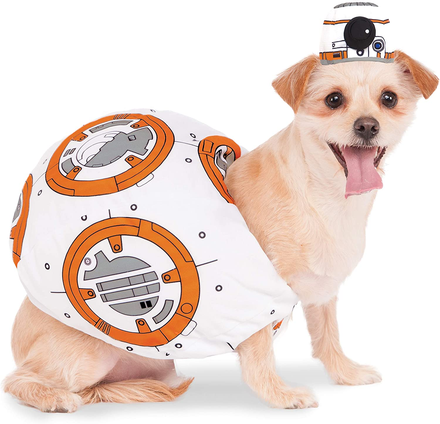 Rubies Disfraz Oficial Star Wars BB-8 para Perro: Amazon.es ...