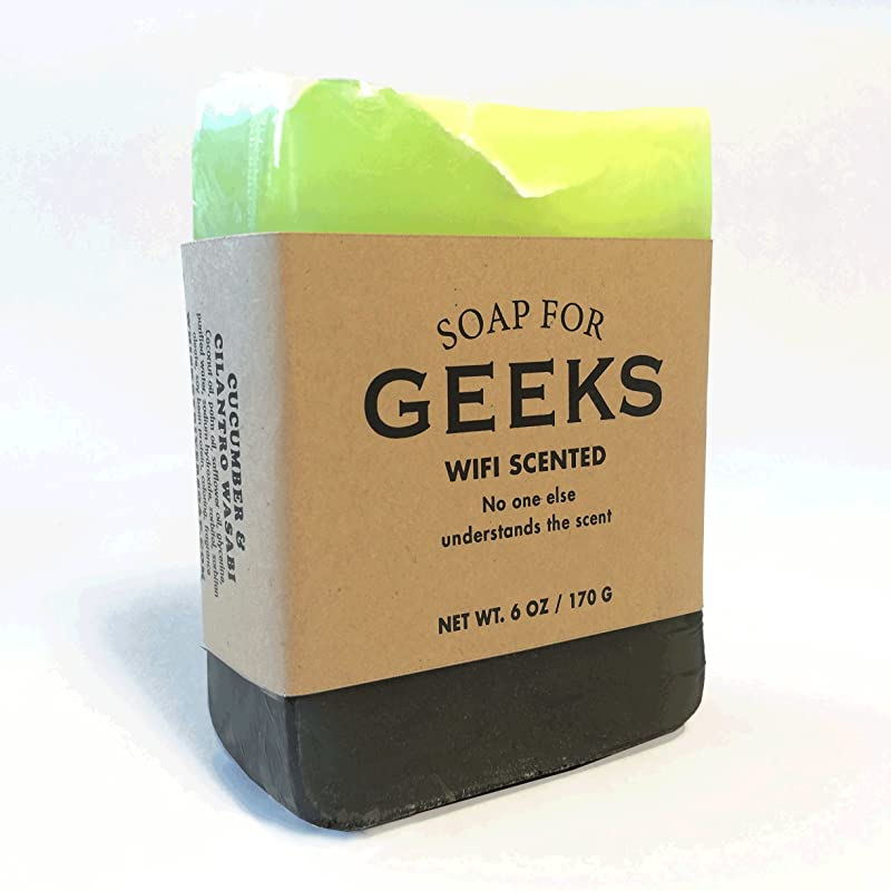 Soap for Geeks - Cucumber, cilantro and wasabi scented